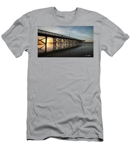 Morning Breaks Men's T-Shirt (Athletic Fit)
