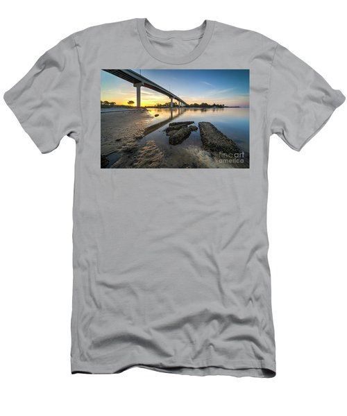 Morning Colors In Port St. Joe Men's T-Shirt (Athletic Fit)