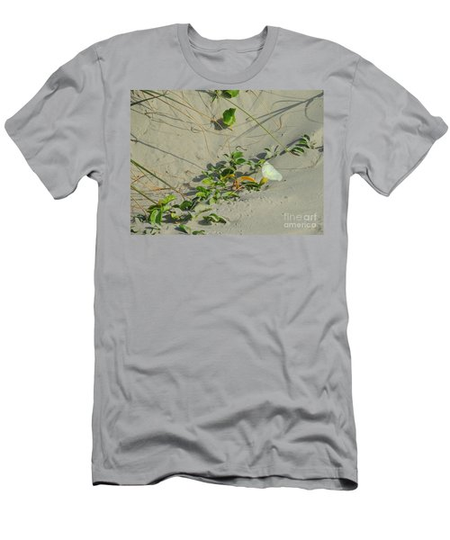 Morning Glory At The Beach Men's T-Shirt (Athletic Fit)