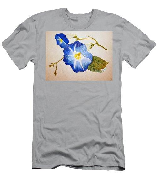 Morning Glory Men's T-Shirt (Slim Fit) by J R Seymour