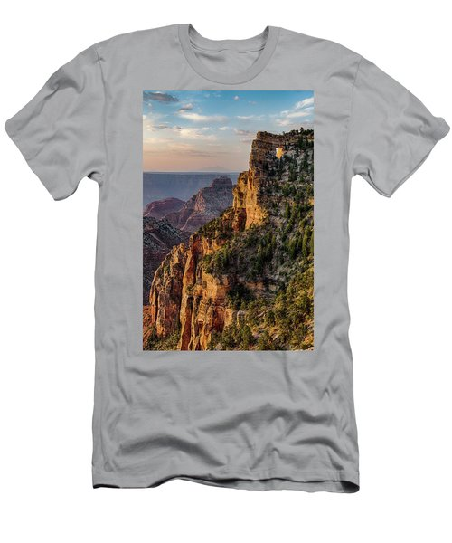 Morning Glow On Angels Window Men's T-Shirt (Athletic Fit)