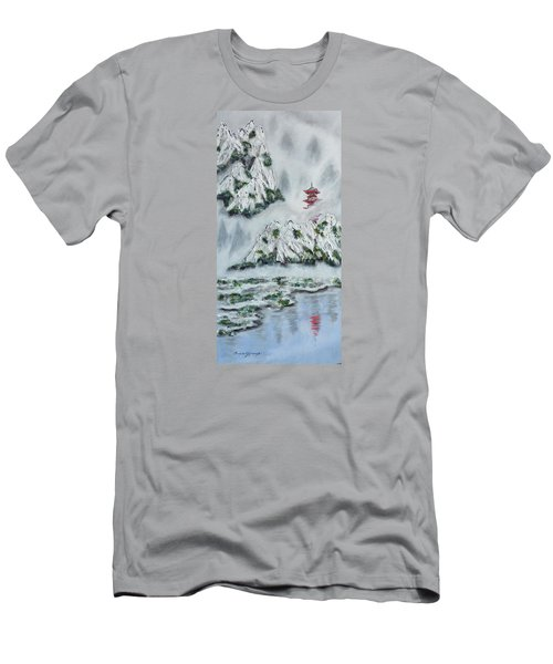 Morning Mist 1 Men's T-Shirt (Athletic Fit)