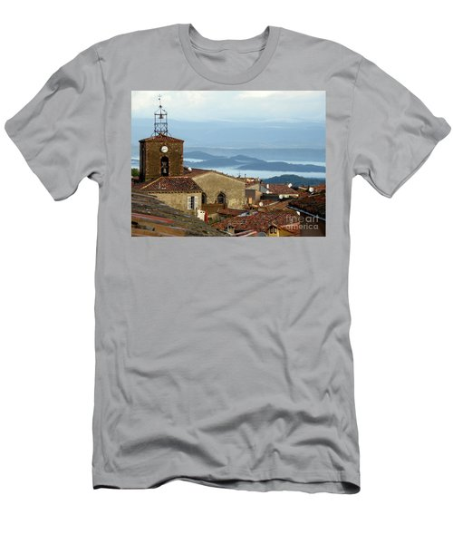 Morning Mist In Provence Men's T-Shirt (Athletic Fit)