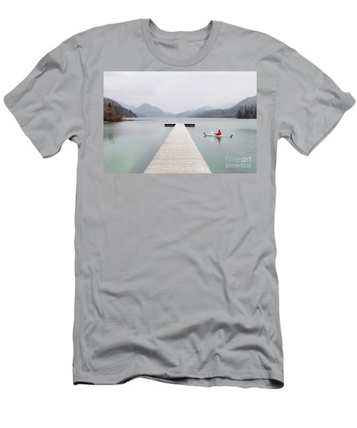 Morning Patrol Men's T-Shirt (Slim Fit) by JR Photography