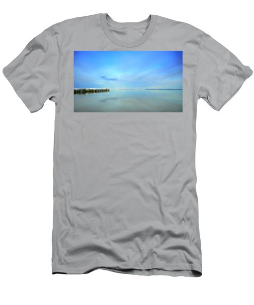 Morning Sky Reflections Men's T-Shirt (Athletic Fit)