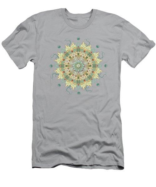 Morris Artful Garden Mandala Men's T-Shirt (Athletic Fit)