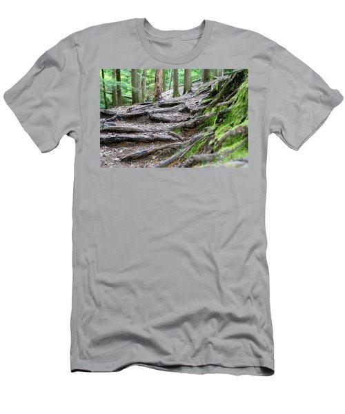 Moss Glen Falls - Vermont Men's T-Shirt (Athletic Fit)