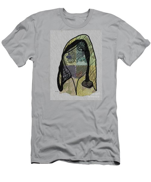 Mother Teresa  Never Forget Men's T-Shirt (Slim Fit) by Ann Calvo