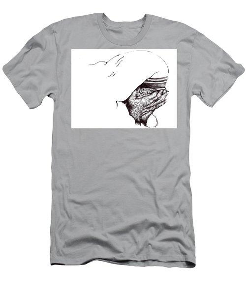 Mother Teresa-pray Today Men's T-Shirt (Athletic Fit)