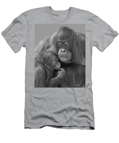Men's T-Shirt (Athletic Fit) featuring the photograph Motherhood 10 by Larry Linton