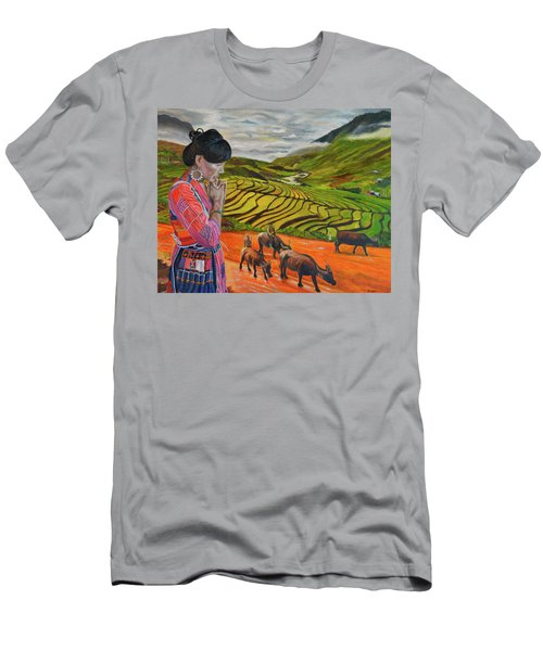 Mother's Land Men's T-Shirt (Athletic Fit)