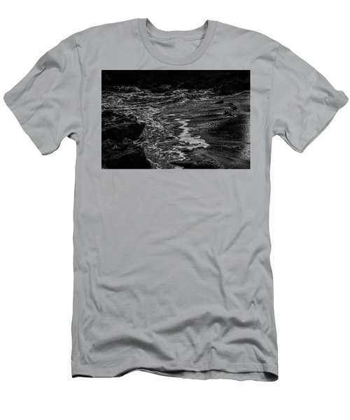 Motion In Black And White Men's T-Shirt (Athletic Fit)