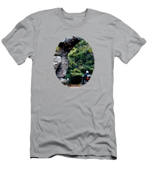 Motoblur  Men's T-Shirt (Athletic Fit)