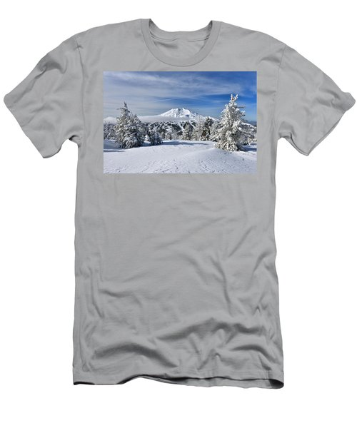 Mount Bachelor Winter Men's T-Shirt (Athletic Fit)