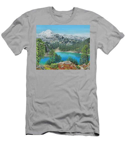 Mount Baker Wilderness Men's T-Shirt (Athletic Fit)