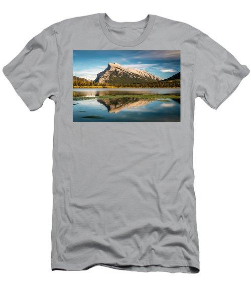 Mount Rundle Banff Men's T-Shirt (Athletic Fit)