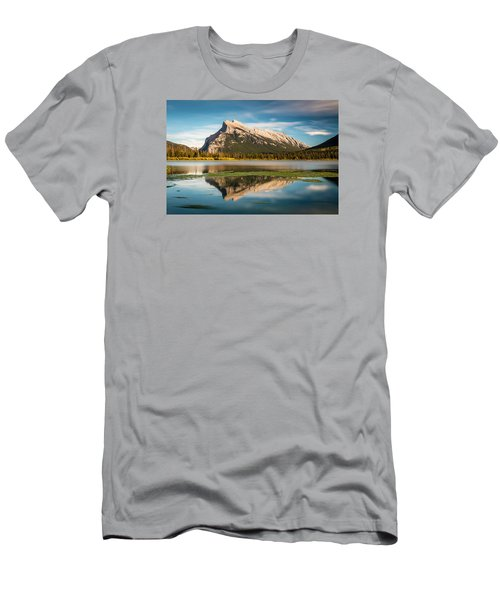 Mount Rundle Banff Men's T-Shirt (Athletic Fit)