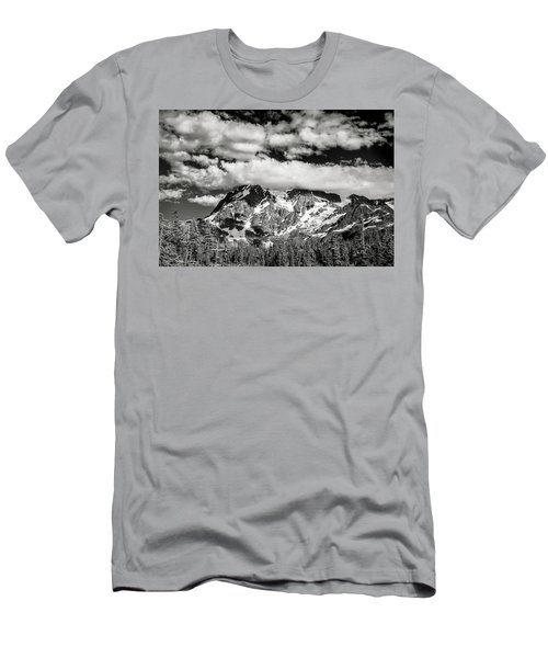 Men's T-Shirt (Slim Fit) featuring the photograph Mount Shuksan Under Clouds by Jon Glaser