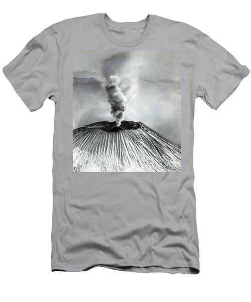 Mount Vesuvius Eruption Men's T-Shirt (Athletic Fit)
