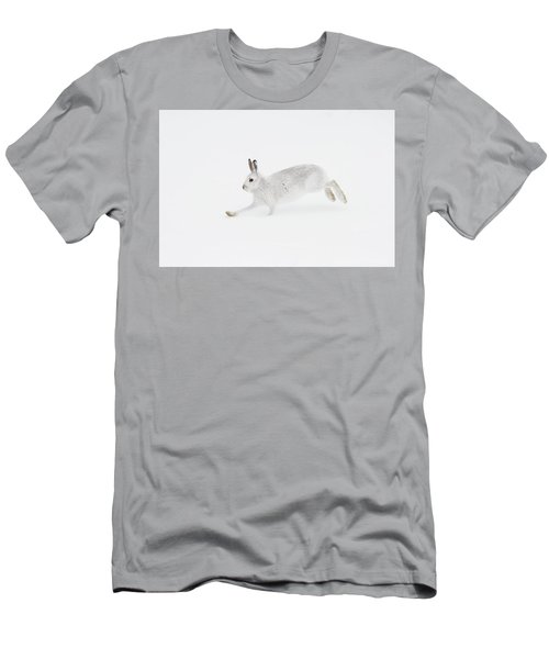 Mountain Hare Running Men's T-Shirt (Athletic Fit)