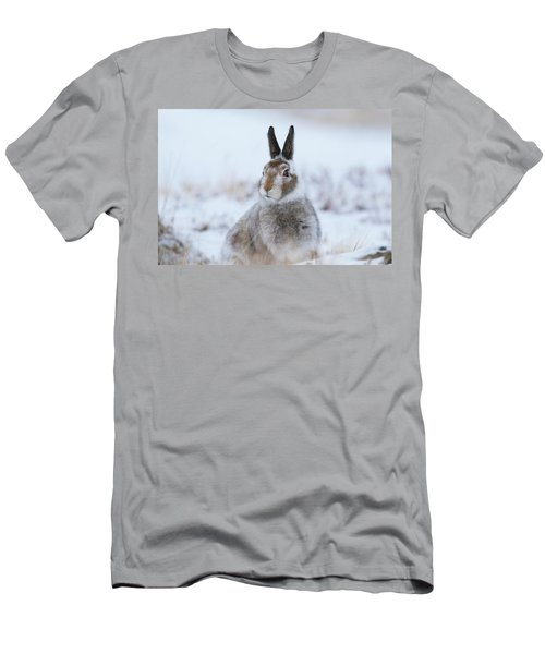 Mountain Hare - Scotland Men's T-Shirt (Athletic Fit)