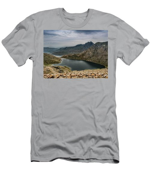 Mountain Hike Men's T-Shirt (Athletic Fit)