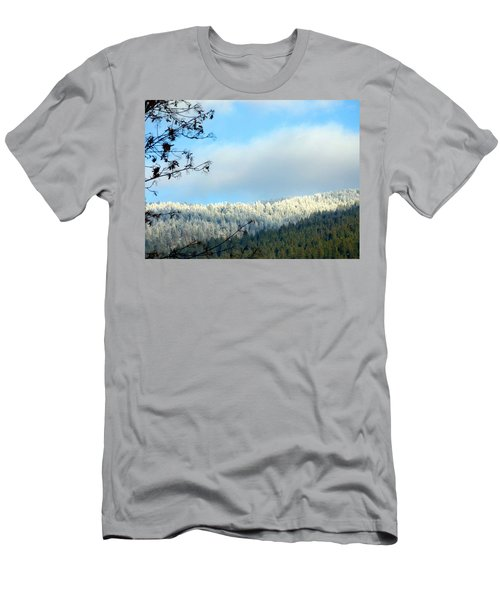 Mountain Hoarfrost Men's T-Shirt (Athletic Fit)