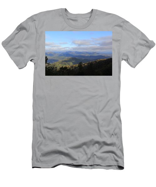 Mountain Landscape 2 Men's T-Shirt (Athletic Fit)