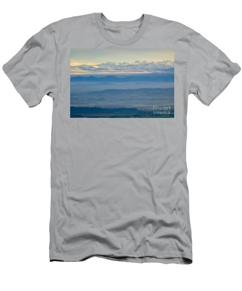 Mountain Scenery 11 Men's T-Shirt (Athletic Fit)