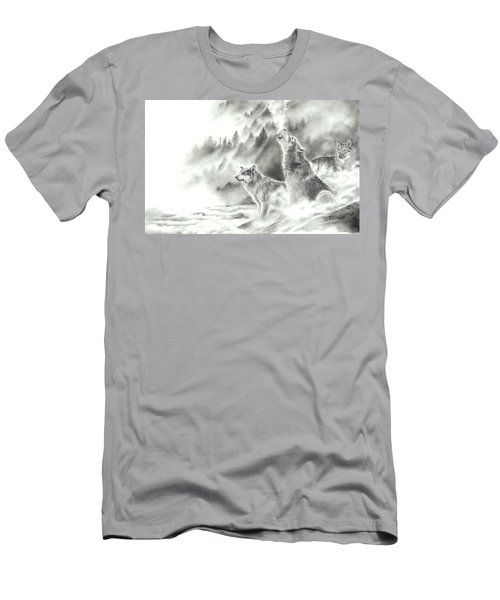 Mountain Spirits Men's T-Shirt (Athletic Fit)