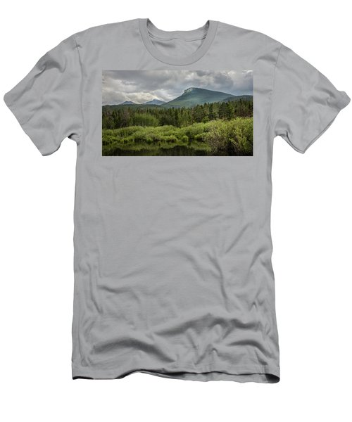 Mountain View From The Marsh Men's T-Shirt (Athletic Fit)