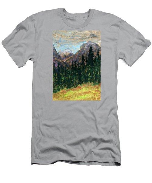 Mountain Vista Men's T-Shirt (Slim Fit) by R Kyllo