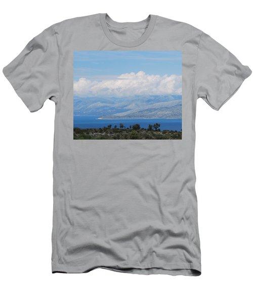 Mountains Far Away  3 Men's T-Shirt (Athletic Fit)