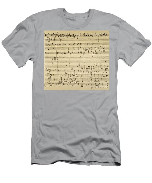 Mozart: Requiem Excerpt Men's T-Shirt (Athletic Fit)
