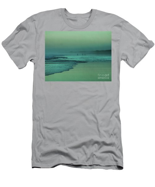 Muawai Sunset Men's T-Shirt (Athletic Fit)