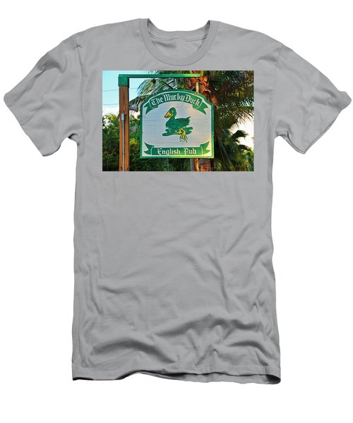 Mucky Duck I Men's T-Shirt (Athletic Fit)