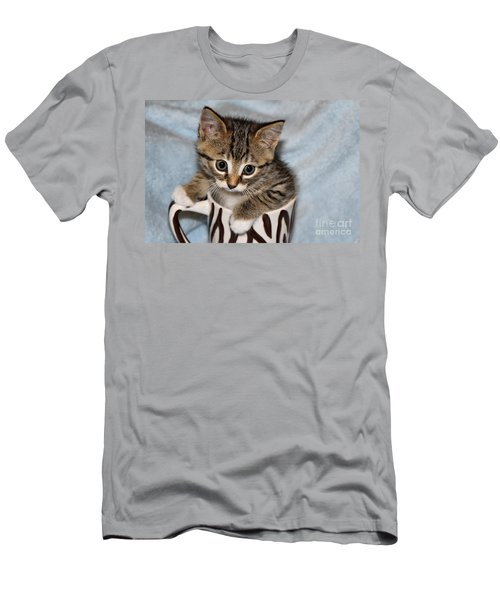 Mug Kitten Men's T-Shirt (Athletic Fit)