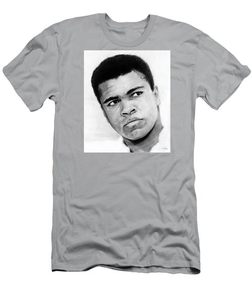 Muhammad Ali Pencil Drawing Men's T-Shirt (Athletic Fit)