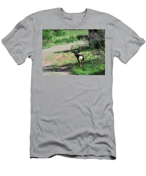 Muledeerbuck7 Men's T-Shirt (Athletic Fit)