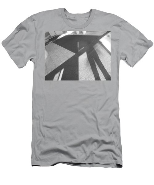 Men's T-Shirt (Athletic Fit) featuring the photograph Multidimensional Viewpoint by Esther Newman-Cohen