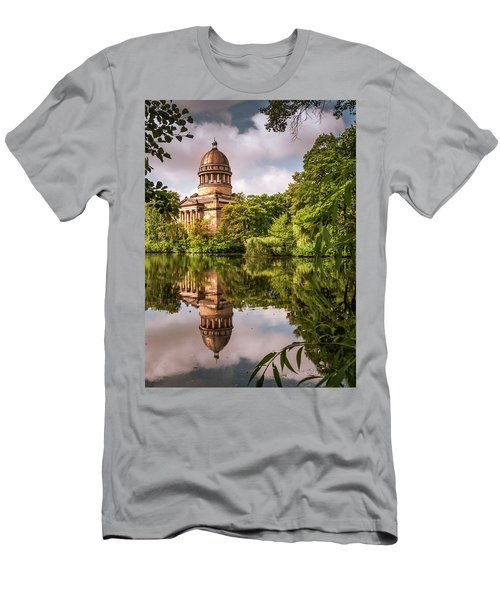 Museum At The Zoo Men's T-Shirt (Slim Fit) by Martina Thompson