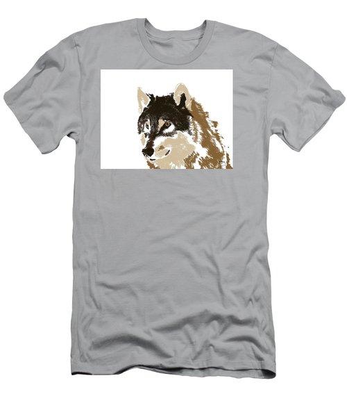 Men's T-Shirt (Slim Fit) featuring the digital art Music Notes 21 by David Bridburg