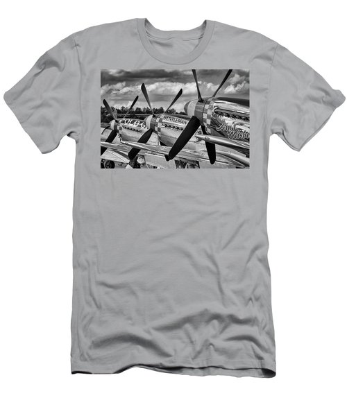 Mustang Row Men's T-Shirt (Athletic Fit)