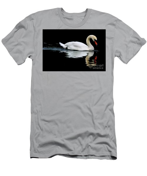 Mute Swan  Men's T-Shirt (Athletic Fit)
