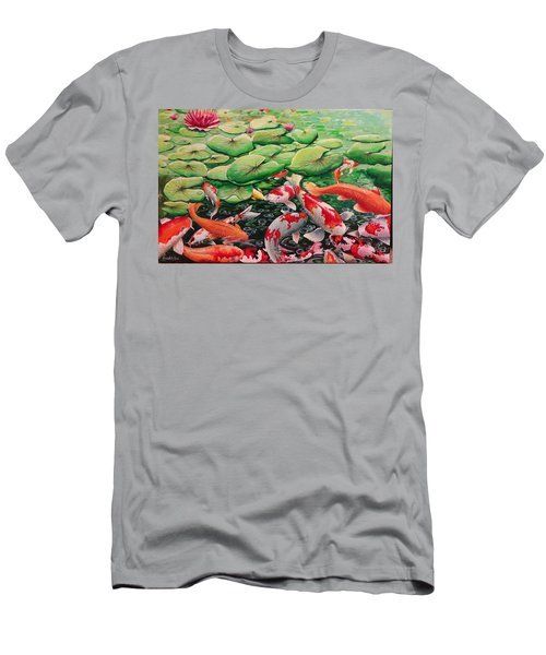 My Backyard Pond Men's T-Shirt (Athletic Fit)