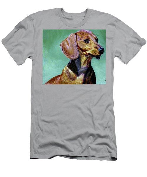 My Daschund Men's T-Shirt (Slim Fit) by Stan Hamilton