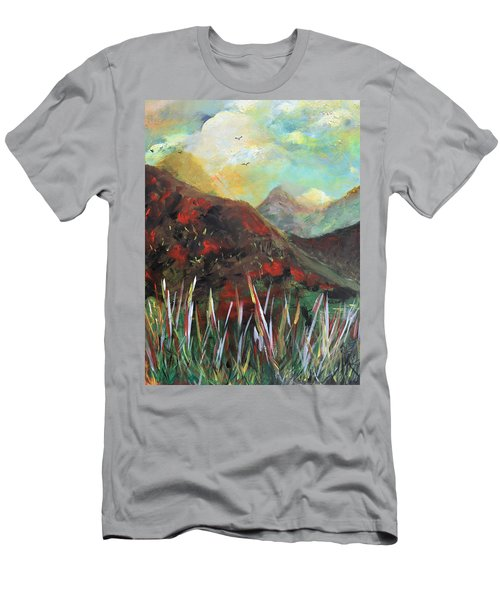 My Days In The Mountains Men's T-Shirt (Athletic Fit)