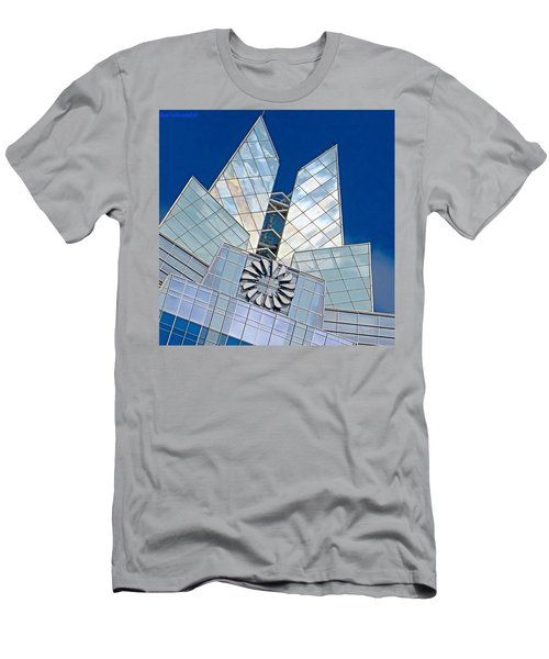 My Favorite #building In #myhometown Men's T-Shirt (Athletic Fit)