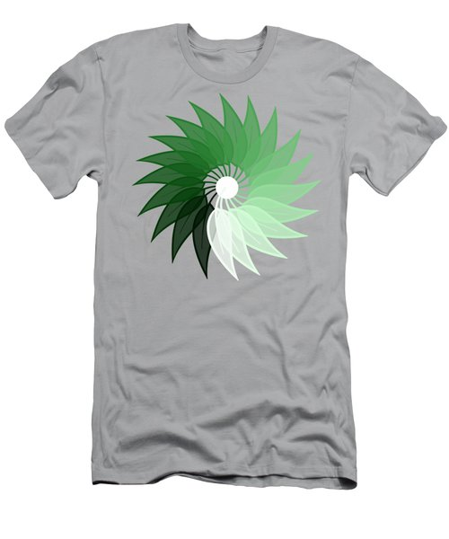My Green Leaf Men's T-Shirt (Athletic Fit)