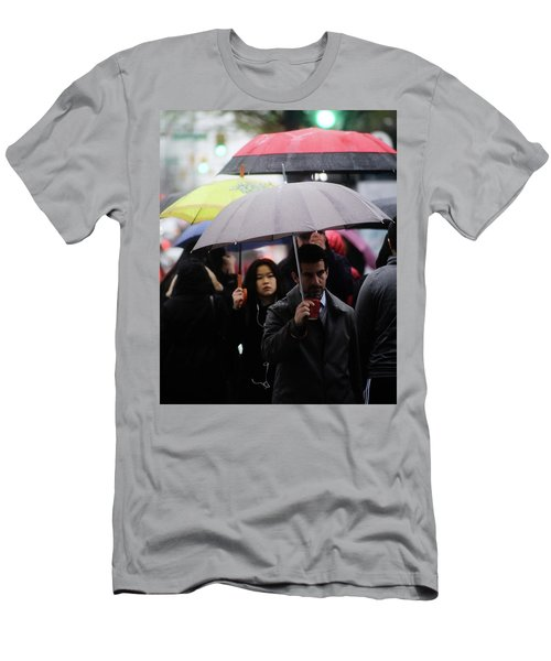 Men's T-Shirt (Slim Fit) featuring the photograph My Space Is Yours  by Empty Wall